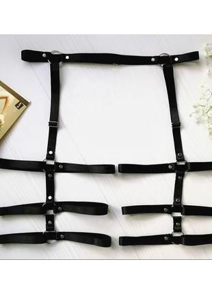 Портупея, гартеры, подвязки, широкий ремень, стрепы