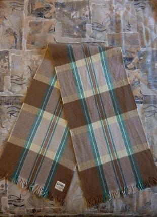 Шарф hamilton scarf (англия)100% pure wool