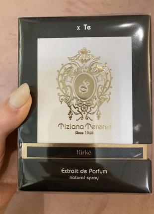 Tiziana terenzi нишевая парфюмерия kirke