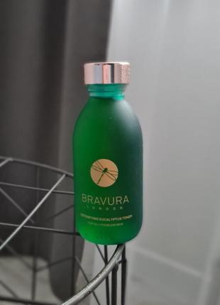 Эвкалиптовый тонер bravura london detoxifying eucalyptus astringent toner 15% aha/bha