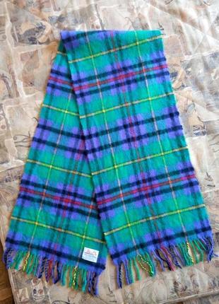 Шарф paco (шотландия)100% lambswool