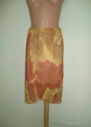 Красивая летняя юбка s м