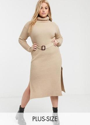 Платье in the style plus-size эксклюзивно для asos