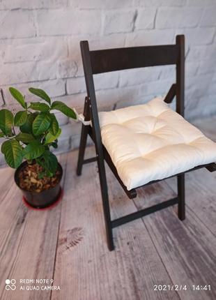 Подушка на стул в форме трапеции!