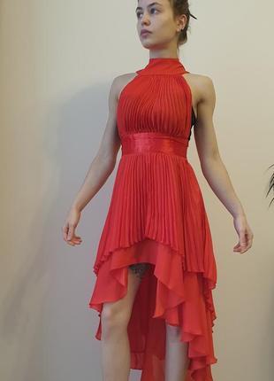 Вечернее платье из шифона