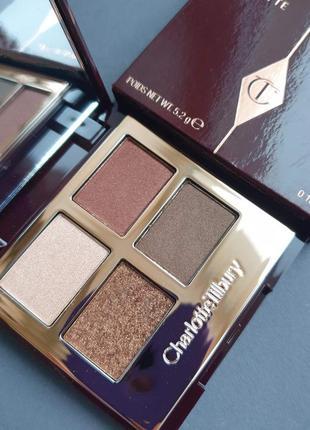 Палитра теней для век charlotte tilbury luxury palette the dolce vita