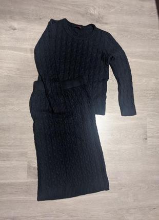 Костюм светр спідниця