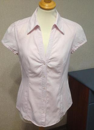 Блуза-рубашка жен. esprit,р.s,m,лен,германия