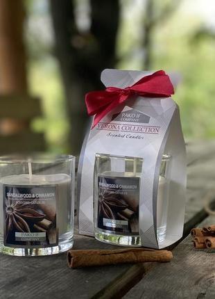 Свеча арома сандаловое дерево