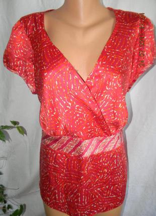 Новая легкая летняя блуза большого размера
