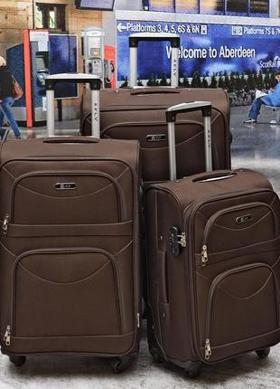 Скидка ,качественный стильный польский дорожный чемодан