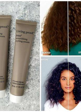 Крем-стайлинг для гладкости волос living proof no frizz nourishing styling cream