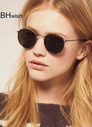 Классические круглые солнцезащитные очки