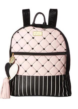 Оригинальный брендовый рюкзак в полоску от betsey johnson!!!