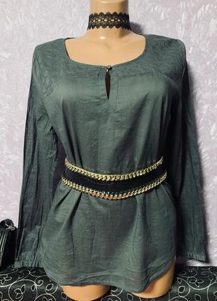 Шикарная лёгкая блузка немецкого бренда opus