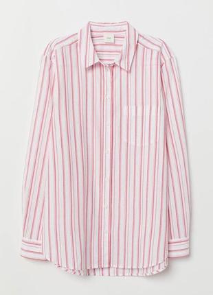 Бавовняна легка рубашка hm