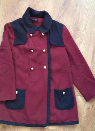 Стильное пальто topshop