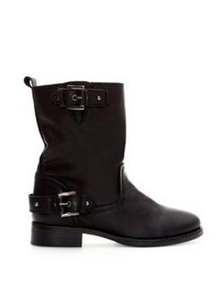 Кожаные ботинки,сапоги без застежки,из 100% кожи,39р(26см стелька) zara