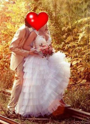 Безупречное свадебное платье