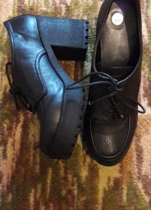 Классные туфельки,тракторная подошва