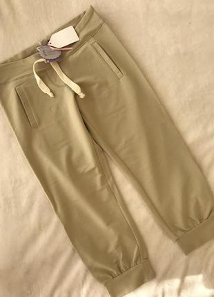 Бриджи брюки на манжетах