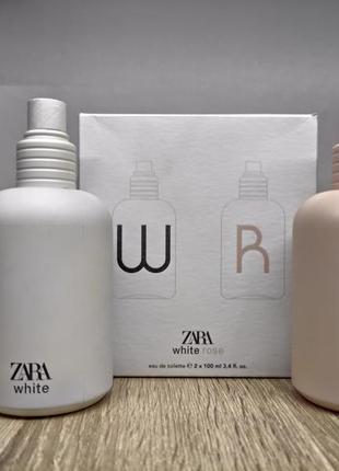 Zara white/zara rose/парфуми.