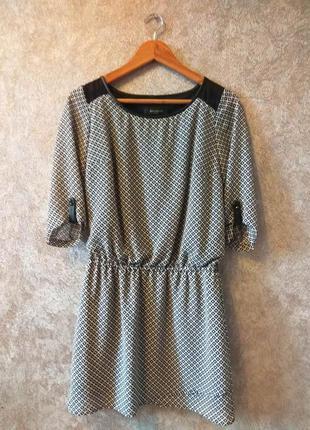 Шифоновое платье reserved
