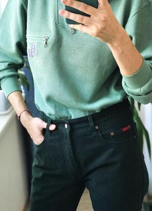 Винтажные темно-зеленые джинсы lee cooper 35/32 унисекс