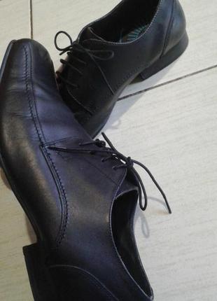 Кожаные туфли 44 размер