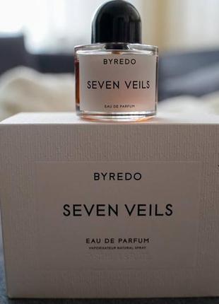 Нишевый парфюм byredo seven veils