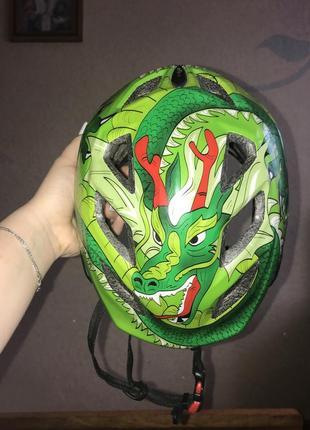 Шлем с драконом