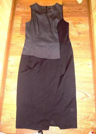 Новое шикарное классическое платье футляр по фигуре next