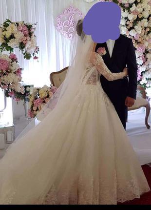 Дизайнерська весільна сукня від oksana mukha cataleya 1