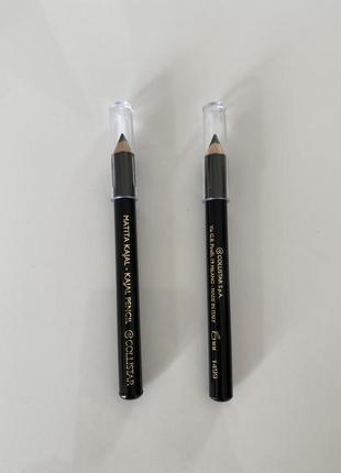 Новый чёрный карандаш для глаз collistar kajal 0,8 гр мини