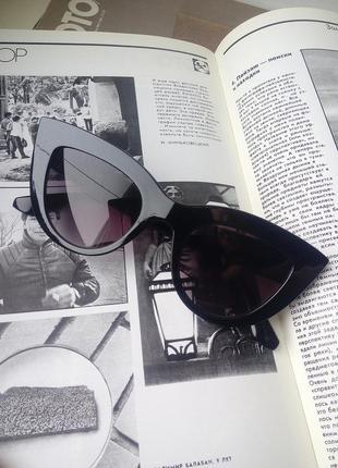 Распродажа! тренд 2021! моднявые женские очки!5 фото