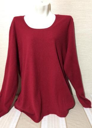 Кашемировый  длинный свитер