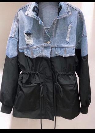 Джинсовая куртка belenciage