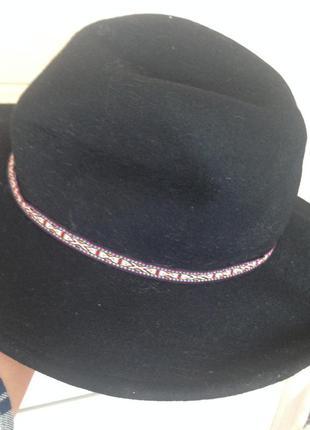 Фетровая шляпа zara