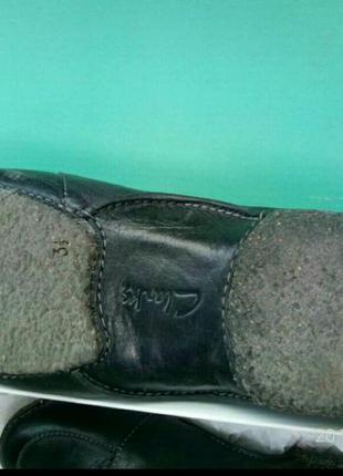 Clarks 100%кожа оригинал туфли, тапочки