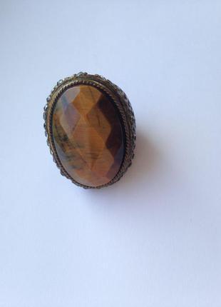 Кольцо перстень крупный mango m