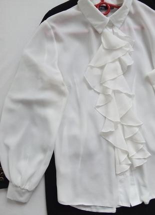 Шикарная блузка викторианский стиль с рюшами. boohoo. скидка к 8 марта 🌹