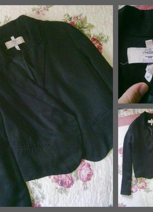 """Классный чёрный пиджак от """"bershka"""""""
