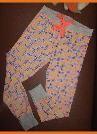 Яркие и стильные пижамные штаны, лосины для дома и не только 48-50р