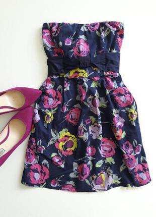 Красивое летнее платье с карманами