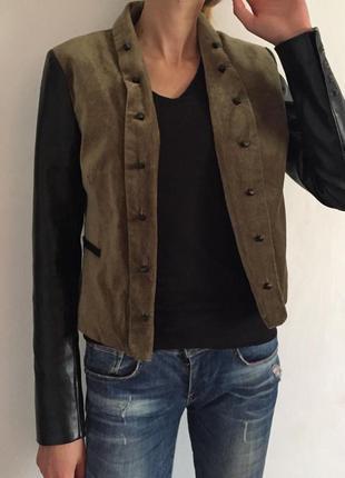 Велюровый пиджак , куртка