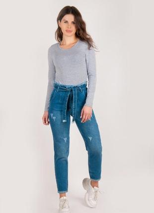 Турецкие джинсы мом mom женские для девочки