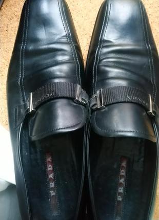 Prada мужские туфли .