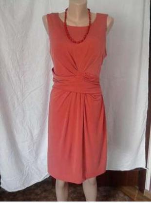 Платье футляр офисное вечернее нарядное 48 50 52 размер миди mаngo