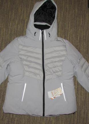 Теплая зимняя горнолыжная куртка 46 р rodeo
