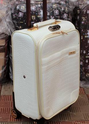 Чемодан, маленький чемодан, валiза, эко кожа, женский чемодан